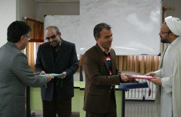 مراسم تودیع و معارفه مدیر حوزه حراست دانشگاه برگزار شد