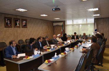 جلسه مشترک هیأت رئیسه دانشگاه گلستان و دانشگاه دامغان