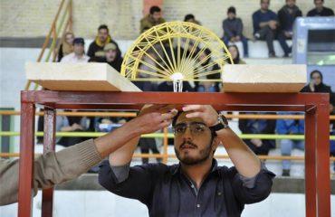 موفقیت دانشجویان دانشگاه دامغان در نخستین دوره مسابقات سازه ماکارونی