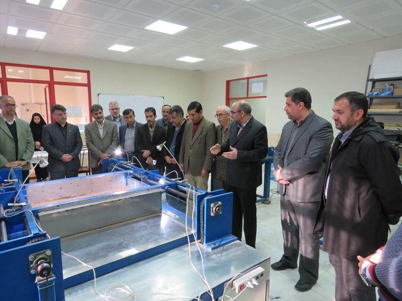 برای اولین بار در سطح کشور آزمایشگاه زمین ساخت در دانشگاه دامغان راه اندازی شد.