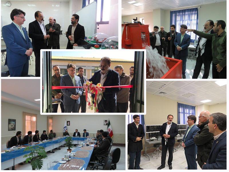 افتتاح چهار آزمایشگاه تخصصی دانشگاه دامغان توسط نماینده محترم مردم دامغان در مجلس شورای اسلامی