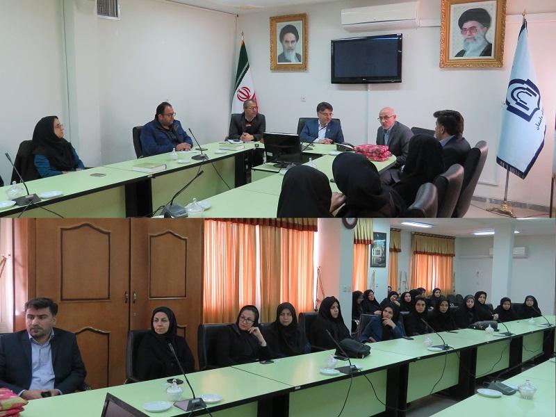 مراسم تقدیر از مقام شامخ زن در دانشگاه برگزار شد