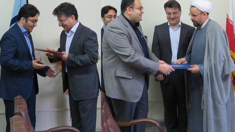 مراسم تقدیر از سرپرست سابق اداره روابط عمومی دانشگاه