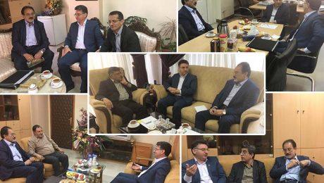 دیدار ریاست دانشگاه دامغان با مسئولین وزارتی