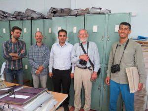 بازدید پژوهشگران اتریشی از هرباریوم دانشگاه دامغان