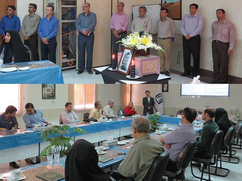 مراسم بزرگداشت پروفسور مریم میرزاخانی در دانشگاه دامغان برگزار شد