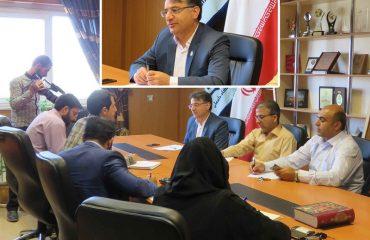 نشست خبری ریاست دانشگاه دامغان با اصحاب رسانه