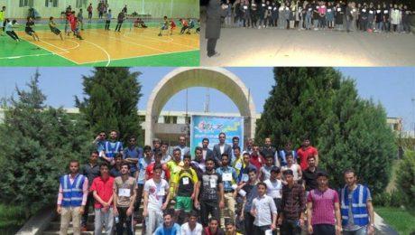 جشنواره ورزش های همگانی در دانشگاه دامغان