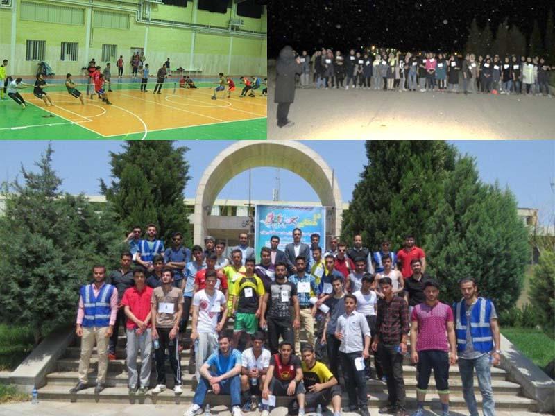 جشنواره ورزش های همگانی در دانشگاه دامغان برگزار شد