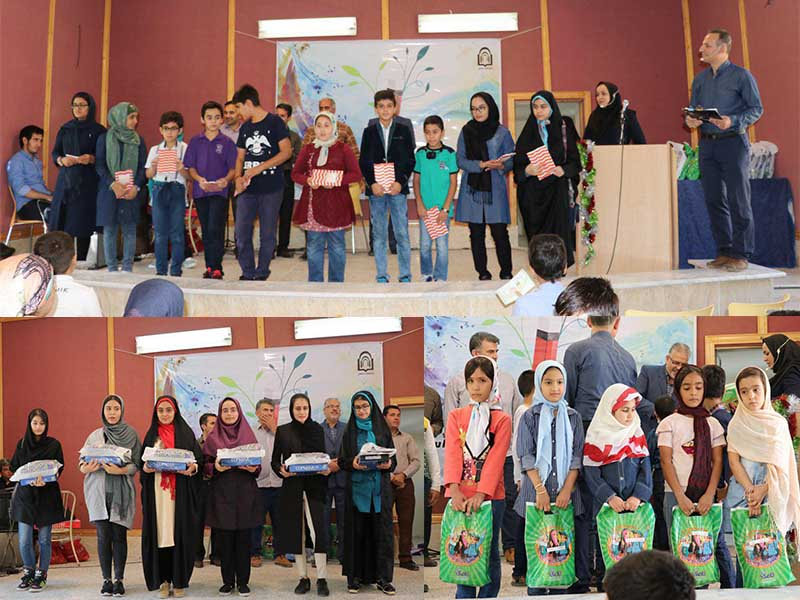 مراسم جشن تجلیل از فرزندان ممتاز کارکنان و اساتید دانشگاه دامغان برگزار شد
