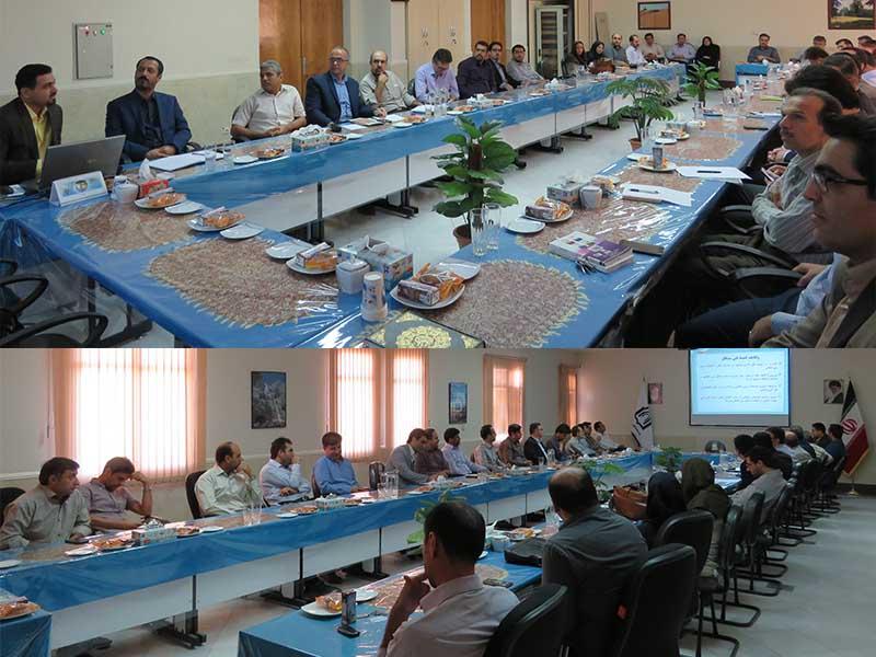 کارگاه آموزشی آشنايی با تدوين استانداردهای ملی و بين المللی برگزار شد