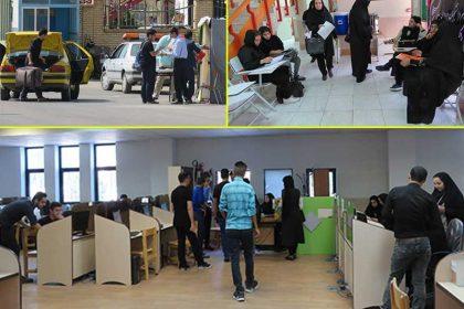 فعاليت ستاد استقبال از دانشجويان ورودي جديد دانشگاه دامغان