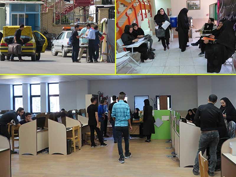 فعالیت ستاد استقبال از دانشجویان ورودی جدید دانشگاه دامغان همچنان ادامه دارد