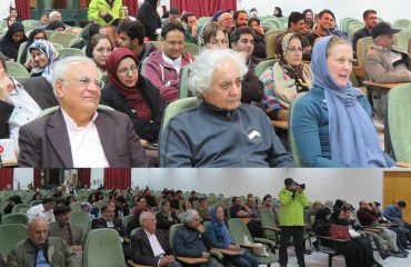 نشست ادبي عرفان ايراني و شعر فارسي در دانشگاه دامغان