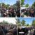 ستاد شهداي گمنام دانشگاه دامغان همراه با مردم