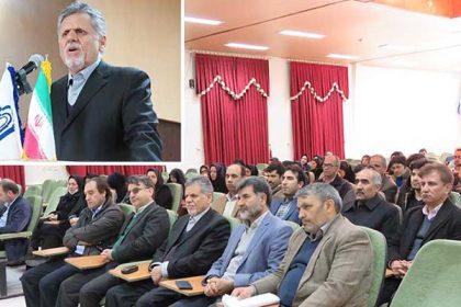 حضور دکتر ضرغام، رئيس صندوق حمايت از پژوهشگران و فناوران کشور در دانشگاه دامغان