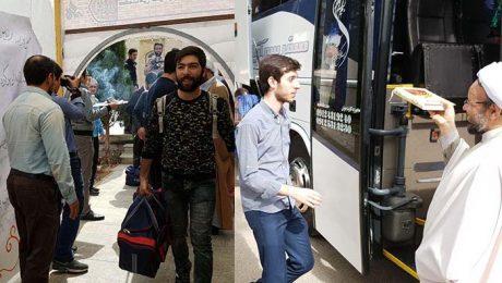 دانشجويان دانشگاه دامغان به اردوي راهيان نور اعزام شدند