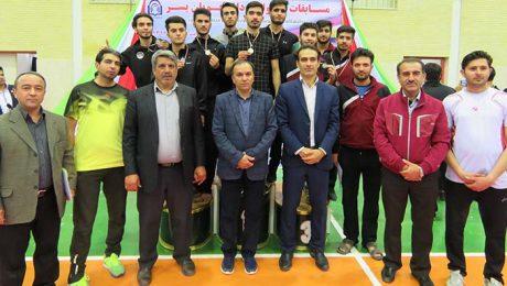 مسابقات تکواندو دانشجويان پسر دانشگاه ها و مؤسسات آموزش عالي منطقه 9 کشور در دانشگاه دامغان برگزار شد