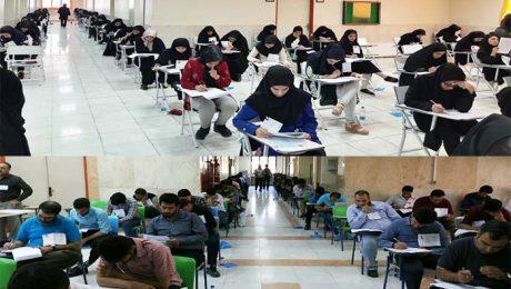 برگزاري پنجمين آزمون استخدامي متمرکز دستگاه هاي اجرايي کشور در دانشگاه دامغان