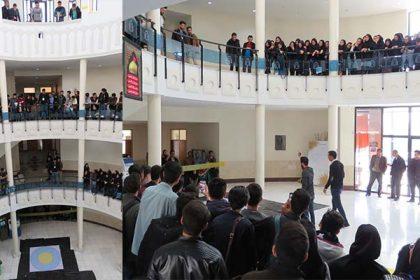 برگزاري اولين دوره مسابقات استاني چالش جاذبه در دانشگاه دامغان