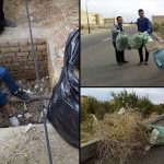 برنامه چالش زباله و تهديد محيط زيست در دانشگاه دامغان برگزار شد
