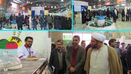 افتتاح هشتمين بازارچه خيريه بوي عيد در دانشگاه دامغان