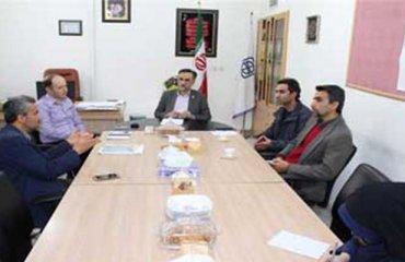 جلسه هم انديشي معاونت دانشجويي دانشگاه دامغان با مدير شبکه بهداشت شهرستان دامغان