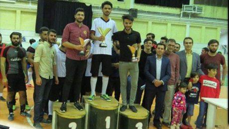 مسابقات فوتسال دانشجويان پسر ويژه ماه مبارک رمضان برگزار شد