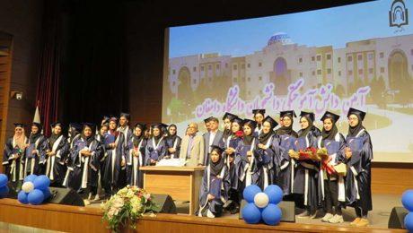 آیین دانش آموختگی دانشجویان دانشگاه دامغان برگزار شد