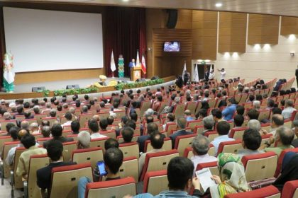 مراسم افتتاحیه ششمین جشنواره ملی پسته ایران در دانشگاه دامغان برگزار شد