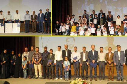 مراسم گراميداشت هفته دولت و روز کارمند در دانشگاه دامغان برگزار شد