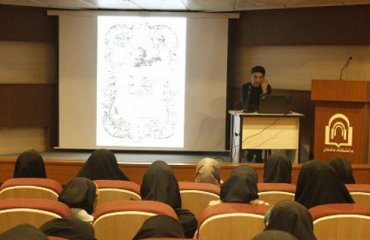 هفته گرافيک در دانشکده هنر دانشگاه دامغان برگزار شد
