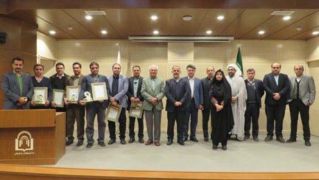 مراسم تجليل از پژوهشگران برتر دانشگاه دامغان برگزار شد