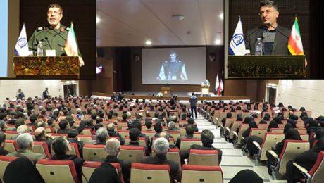مراسم اربعين علمدار در دانشگاه دامغان برگزار شد