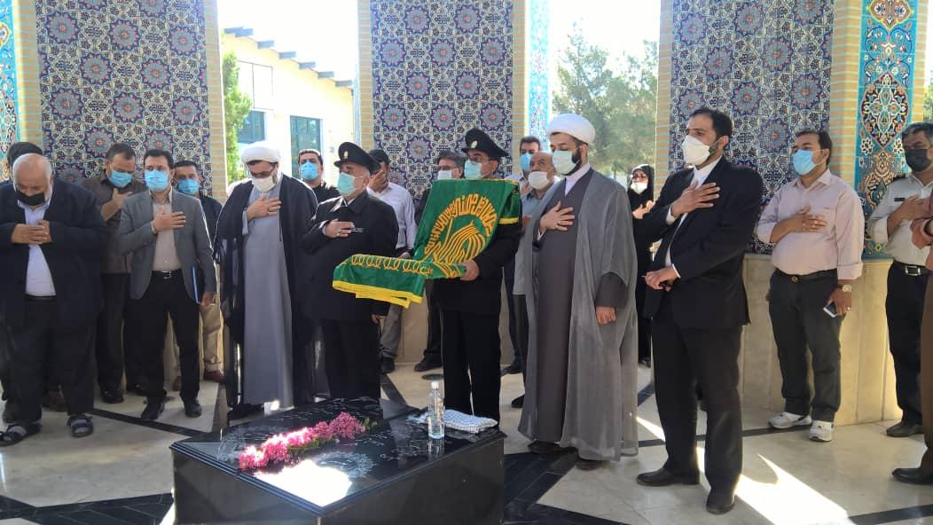 گزارش تصویری مراسم استقبال از خدام حرم امام هشتم و پرچم گنبد علی بن موسی الرضا(ع)